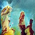 Eagle Pillars by Bernard MORIN