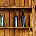 Five Bottles by Carlos Caetano