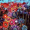 Flower Garden by Karen Elzinga