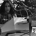 Folk Singer Joan Baez Singing by Everett