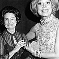 Former First Lady Visits Carol Channing by Everett