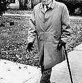 Former President Harry Truman Walks by Everett