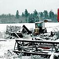Frozen Field by Brandt Wemmer