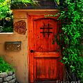 Garden Doorway by Perry Webster