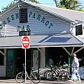 Green Parrot Bar In Key West by Susanne Van Hulst