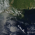 Gulf Oil Spill, April 2010 by Nasa