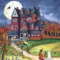 Halloween Haunted Mansion by Iva Wilcox