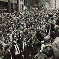 Harry Belafonte B. 1927 Speaking At An by Everett