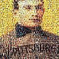 Honus Wagner Mosaic by Paul Van Scott