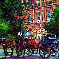 Horsedrawn Carriage by Carole Spandau