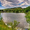 Horsetooth Reservoir Summer Scene by Harry Strharsky