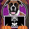 I'm Just A Lil' Spooky Boxer by Renae Laughner