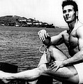 Jack Lalanne Before Handcuffed Swim by Everett