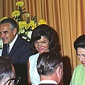 Jacqueline And Robert Kennedy Host by Everett