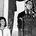 Jacqueline Kennedy And Architect Ieoh by Everett