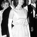 Jacqueline Kennedy At A Dinner To Honor by Everett