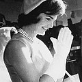 Jacqueline Kennedy Visiting A Childrens by Everett