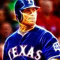Josh Hamilton Magical by Paul Van Scott