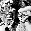 King George Vi, Queen Elizabeth by Everett