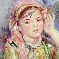 L'algerienne by Pierre Auguste Renoir