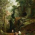 Landscape Near Clifton by Francis Danby