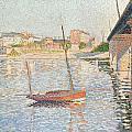 Le Clipper - Asnieres by Paul Signac