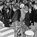 Lyndon Johnson Funeral. President Nixon by Everett