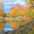 Mayslake At Fall by Judith Barath
