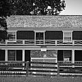 Mclean House Bw Appomattox Virgnia by Teresa Mucha
