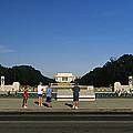 Memorial Plaza Of The World War II by Richard Nowitz