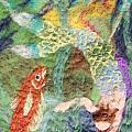 Mermaid And Fish by Nicole Besack
