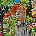 Mirabell Gardens In Salzburg Hdr by Mary Machare