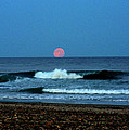 Moonrise Rexham Beach by Malcolm Lorente