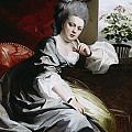 Mrs Clark Gayton by John Singleton Copley