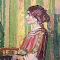 Mrs Robert Bevan by Harold Gilman