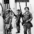 National Guardsmen At A Los Angeles by Everett