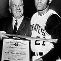 National League President Warren Giles by Everett