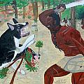 Neg Mawon Haiti 1791 by Nicole Jean-Louis