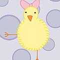 Nursery Art Baby Bird by Christy Beckwith