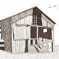 Ohio Barn by Pat Price