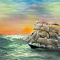 Open Seas by Diane Haas