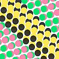 Overlayed Dots by Louisa Knight
