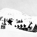 Paradise Inn Buried In Snow, 1917 by Science Source