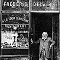 Paris: Restaurant, 1890s by Granger
