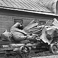 Peter The Great, Resting On A Wagon by Maynard Owen Williams