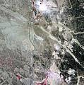 Phosphate Mines, Jordan by Nasa