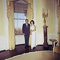 President And Jacqueline Kennedy by Everett