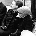 President Harry Trumans Funeral. Bess by Everett