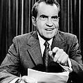 President Richard Nixon Presents A New by Everett