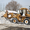 Removing Snow by Ted Kinsman